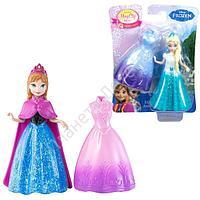 Disney Princess. Кукла - героиня м/ф Холодное сердце с дополнительным нарядом, в ассортименте (Анна/Эльза),