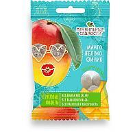 Правильные сладости Манго, яблоко, финик
