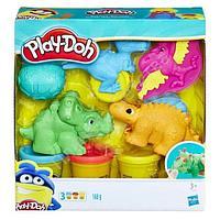 "Набор Пластилина Play-Doh Плей-До ""Малыши-Динозаврики"""