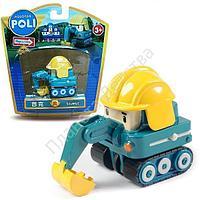 Игрушечная металлическая машинка Пок, Poli Robocar