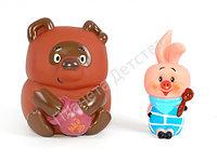 Набор резиновых игрушек «Винни пух и Пятачок»