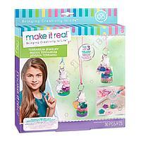 Набор для создания шарм-браслетов Make it Real Цветочный террариум