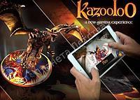 Игра Kazooloo, с использованием технологии дополнительной реальности