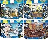 Star Wars. Фигурки звёздных воинов на транспортном средстве в ассортименте