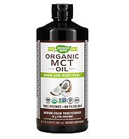 Nature's Way, Органическое масло со среднецепочечными триглицеридами, 887 мл (30 жидк. унций)