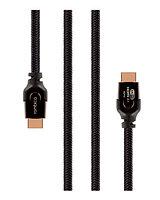 Rombica кабель для видео DX30 HDMI to HDMI, 2.1, 3 м., черно-оранжевый / CB-DX30