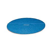 Тент солнечный для бассейнов диаметром 457 см, INTEX, 29023, PE, Синий, Сумка