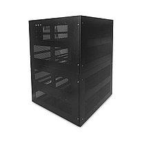 Шкаф для аккумуляторов, С-40 (200Ач), Габариты: 1300*1320*1510 мм., Вместимость: 200Ач/40шт., Вес: 170 кг,