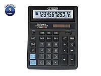 """Калькулятор настольный CITIZEN """"SDC-888TII"""" 12-разрядный черный"""