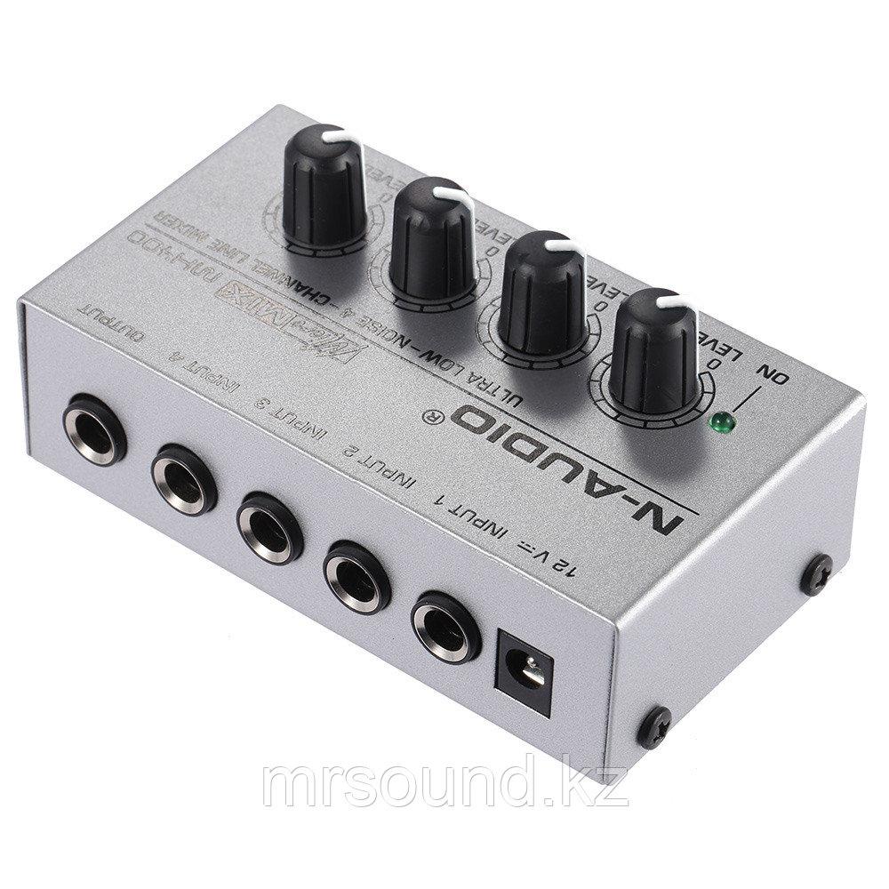 Микшерный пульт (моно) 4 канала MX400