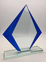 Стелла наградная, стеклянная (G16)