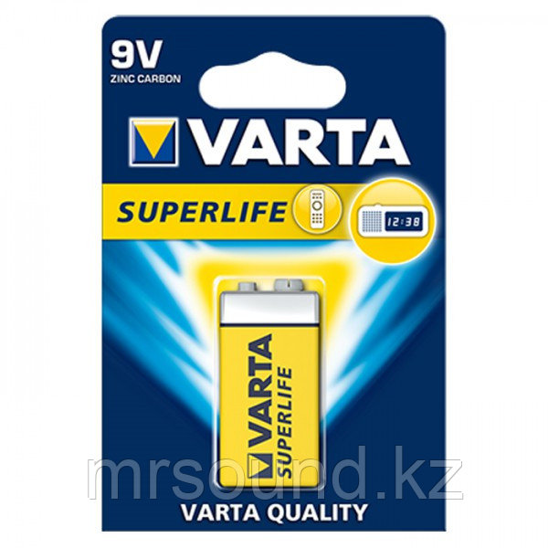 "Батарея ""Varta"" 9V SuperLife Крона"