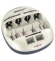 Зарядное устройство Ansmann Energy 8 Plus 6 AA/AAA, 4 C/D, 2 9V, NiCd/NiMH, AC100-240V