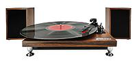 Проигрыватель виниловый Ritmix LP-280 темное дерево