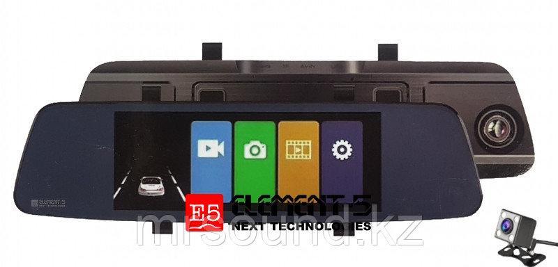 """Зеркало с сенсорным экраном 7"""", видеорегистратор,  камера заднего вида (T87)"""