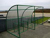 Велопарковка с навесом на 6 мест