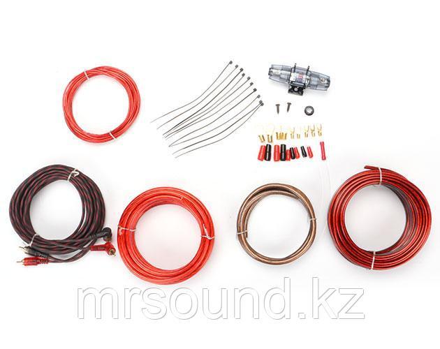 """Комплект кабелей и аксессуаров для установки 2-х канального усилителя """"URAL"""""""