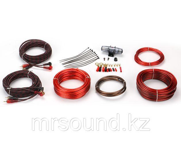 """Комплект кабелей и аксессуаров для установки 4-х канального усилителя """"URAL"""""""