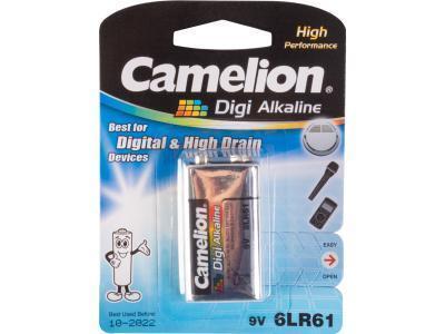 Батарейка Camelion Digi Alkaline 6LR61-BP1DG 1шт
