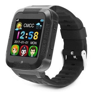 Умные детские часы-телефон с камерой, GPS-трекером и сенсорным экраном Smart Watch K3 (Черный)