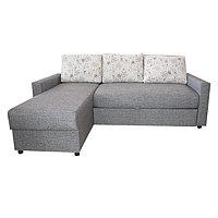 """Угловой диван """"Виктория 2-1 comfort"""" 1600 мм (дельфин) I кат. (RJB14/1, Модерн серый)"""