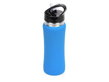 Бутылка спортивная Коста-Рика 600мл, голубой