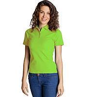 Рубашка женская, размер 48, цвет ярко-зелёный