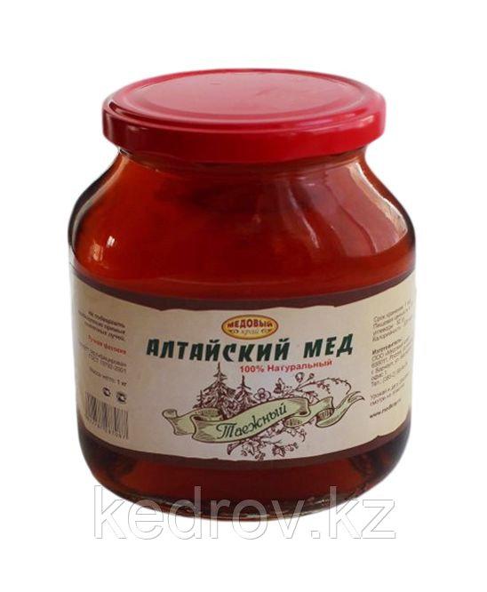 """Мёд Алтайский """"Таёжный"""" 1000 гр стекло """"Золото Алтая"""""""