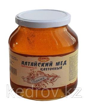 """Мёд Алтайский """"Горный"""" 1000 гр стекло """"Золото Алтая"""""""