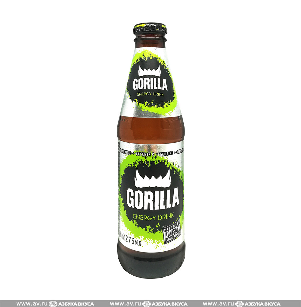 Gorilla напиток энергетический 0,3л