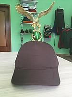Кепка коричневая   однотонная коричневая кепка   бейсболка коричневая   кепка однотонная   коричневая бейсболк, фото 1
