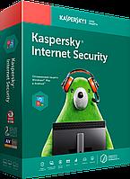 Антивирус Касперского KIS, Internet Security, продление на 1 год (подписка на 8 месяцев), на 3 устройства, box