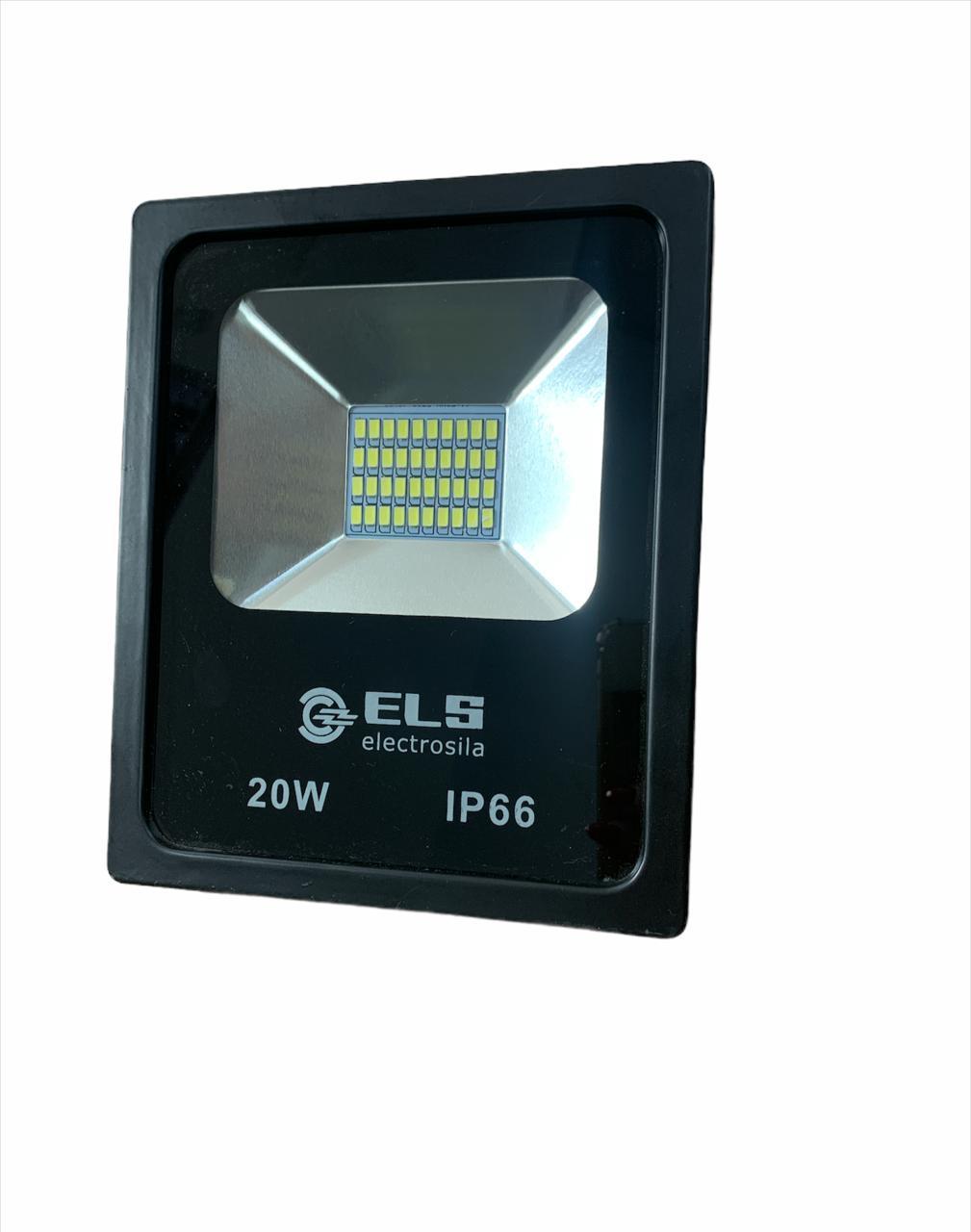 Прожектор светодиод. 20W 6500K IP65 ELS