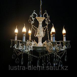 Люстра Классика 725/6 FG+BN E14*6, фото 2