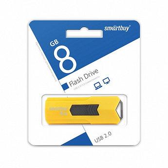 USB накопитель Smartbuy 8GB STREAM Yellow