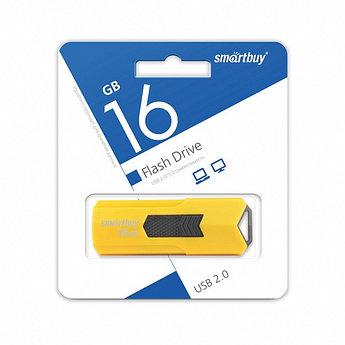 USB накопитель Smartbuy 16GB STREAM Yellow