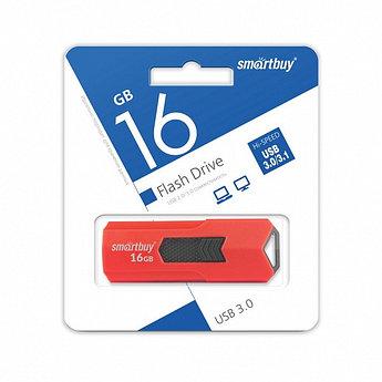 USB 3.0 накопитель Smartbuy 16GB STREAM Red