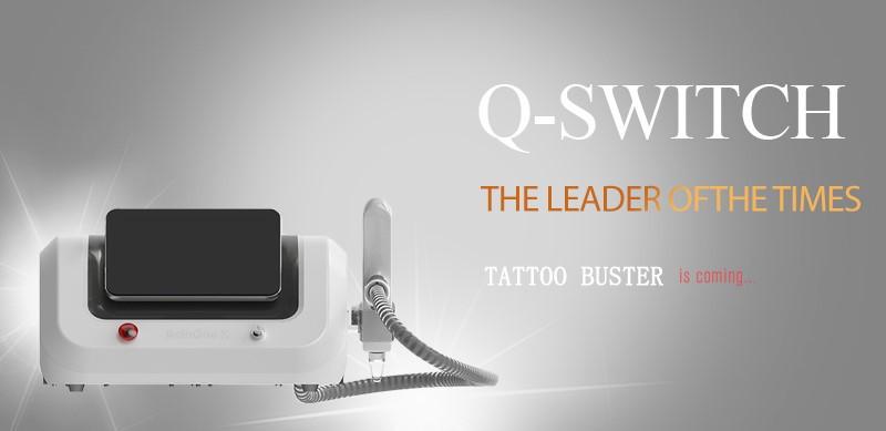 Q-Switch Nd:YAG-laser (удаление татуировок)