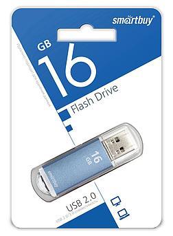 USB накопитель Smartbuy 16GB V-Cut Blue