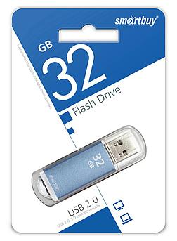 USB накопитель Smartbuy 32GB V-Cut Blue