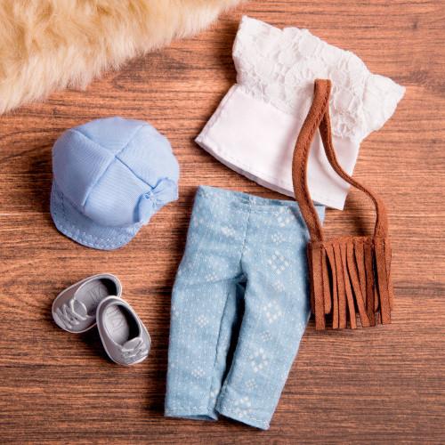 LORI Набор одежды для кукол - Сумка с бахромой