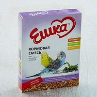 """Кормовая смесь """"Ешка"""" для волнистых попугаев, 400 гр. (с морской капустой)"""