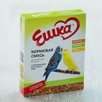 """Кормовая смесь """"Ешка"""" для волнистых попугаев, 400 гр. (с витаминами для окраса пера)"""