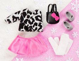 LORI Набор одежды для кукол - Стильный с юбкой