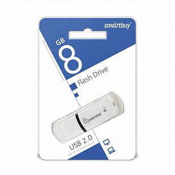 USB-накопитель Smartbuy 8GB Paean series White