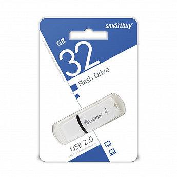 USB-накопитель Smartbuy 32GB Paean series White