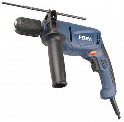 Дрель ударная Ferm PDM1051 550W синяя