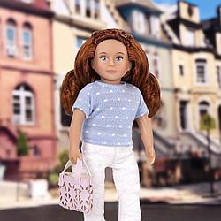 Кукла Lori by Battat в брюках с сумочкой LO31108Z / Саффрон/ Канада