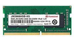 Память оперативная DDR4 Notebook Transcend JM2666HSG-8G