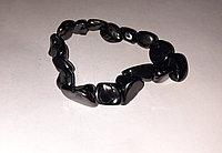 Шунгитовый браслет  из Карелии